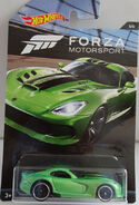 Forza motorsport 5-6; Dodge (2013) SRT Viper - Hot Wheels DWF36 2017