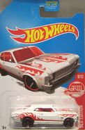 Hot wheels '68 Chevy Nova red edition carded