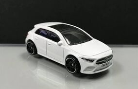 2019 Hot Wheels Mercedes-Benz A-Class loose
