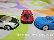 Chiron With Agera And Veyron