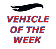 Vehicle of the week