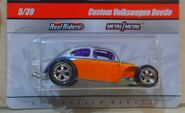 2010 Hot Wheels Malaysia Base Custom Beetle