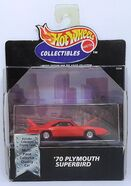 '70 Plymouth Superbird - 1999 Cool Collectibles - Orange