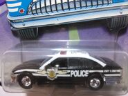 Hot wheels police cruiser NYPD