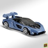 2019 Hot Wheels McLaren Senna FYB46 right