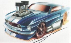 '68MustangSketch