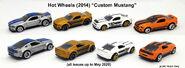 2014 Custom Mustang casting