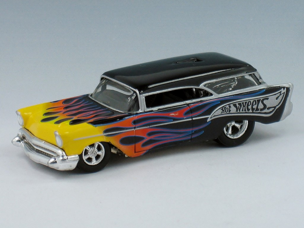 1957 Chevy Nomad Custom Hot Wheels Wiki Fandom Powered By Wikia Chevrolet Interior