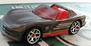 HW DODGE VIPER RT10 Horsepower GRAY