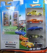 2009 5pk N4076 HW Hot Rods w