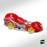 2020 Hot Wheels Power Rocket right