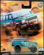 Hot Wheels Desert Rally '88 Jeep Grand Wagoneer carded