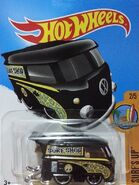 2017 Surf's Up 2-5 302-365 Volkswagen Kool Kombi 'Surf Shop' -Mooneyes- Black