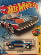 2019 - HW Art Cars 9-10 - '67 Camaro - Treasure Hunt