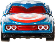 BDM73 Hot Wheels Marvel Character Cars - Captain America HW Marvel Cars Captain America XXX 4