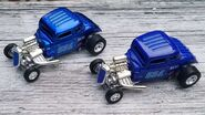 Blown 34 Ford Blue Versions