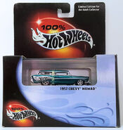 1957 Chevy Nomad Custom (29697) )Black) (Pack)