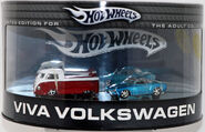 100% Hot Wheels, 2005 Viva Volkswagen 2-Car Set