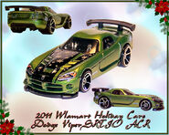 2011 Walmart Holiday HW Dodge Viper SRTIO ACR