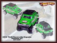 2012 Thrill Racers-Earthquake Hummer H2