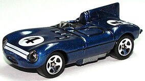 Jaguar D-Type Blu5sp