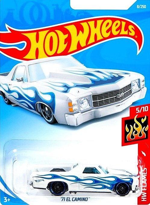 151-nuevo en caja original Hot Wheels 2019-exotique-Speed Blur