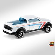 2019 Hot Wheels 2-Tuff 2nd colour back right