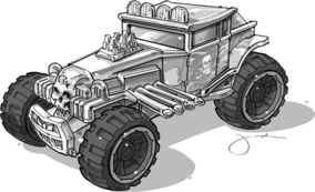 Baja boneshaker Sketch