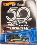 50th Aniv. VW Squareback Card