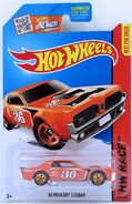 68 Mercury Cougar - 36 Orange - Card