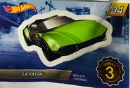 Mystery Model series 3 - 04 of 12 La Fasta - Sticker