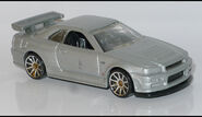 Nissan Skyline GT-R R34 (3823) HW L1170114