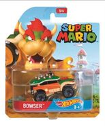 Super Mario Character Car Bowser package