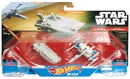 First Order Transporter & Resistance X-Wing (CKJ81)