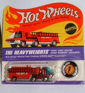 Carded HW Fire Engine