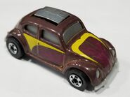VW Bug Brown pop up top