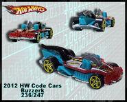 2012 HW Code Cars Buzzerk 236-247