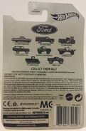 Ford Truck Series Back Card