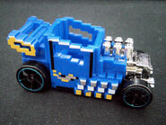 Pixel shaker blue