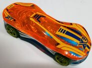 2018 Clear Speeder orange