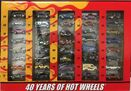 '70 Plymouth Superbird - 2007 40 Years of Hot Wheels Set - White