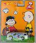 2014 Hot Wheels Pop Culture Peanuts Soda Popper AKA Haulin' Gas carded