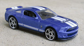 10 Shelby GT500 - 10NM Blue