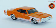 69' Dodge Coronet super Bee (971) Hotwheels L1230690