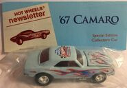 7th Collectors Nationals 67 Camaro NewsLetters light blue