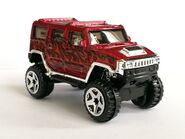 Hummer H2 Red 06