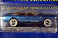 Metalflake Blue '65 Mustang Convertible - 5990cf
