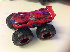 Spider-man (monster truck)
