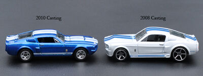 Both 67 Shelby GT500 w Titles