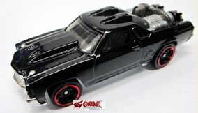 Custom '71 El Camino-BLACK